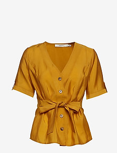 ArienneGZ shirt HS19 - short-sleeved blouses - narcissus yellow