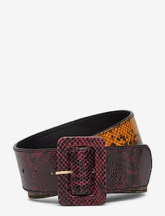 BobbieGZ belt AO19 - BORDEAUX SNAKE