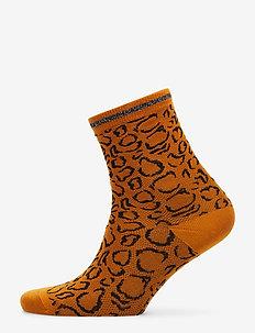 HaniGZ socks AO19 - MUSTARD ANIMAL
