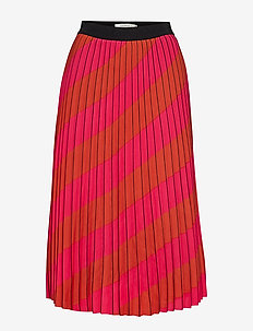 AlessiaGZ skirt AO19 - midinederdele - pink stripe