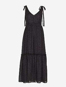 LonaGZ long dress AO19 - midi kjoler - black