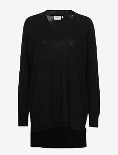 ThelmaGZ V-pullover - truien - black