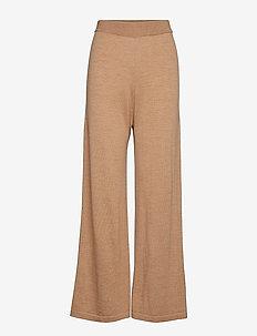 ThelmaGZ culotte AO19 - uitlopende broeken - camel melange