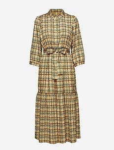 TjekkeGZ OZ dress ZE1 19 - robes chemises - yellow check print