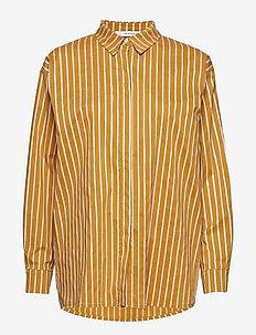 BethanyGZ OZ shirt ZE1 19 - overhemden met lange mouwen - narcissus yellow stripe