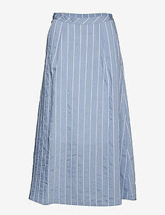 TuanGZ skirt ZE2 19 - midinederdele - blue/white stripes