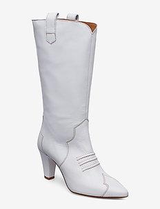 NessGZ Boots - langskaftede - bright white