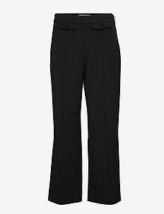 MilaGZ sid culottes MA19 - pantalons droits - black