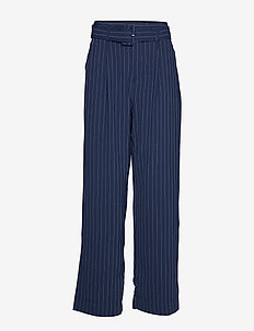 KineGZ pants MA19 - pantalons larges - peacoat pinstripe
