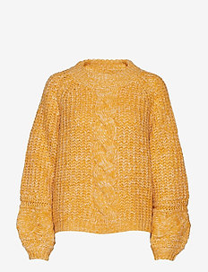 ZiaGZ pullover MA19 - jumpers - golden yellow
