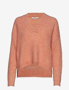 BrendaGZ v-pullover MA19 - BLUSH MELANGE