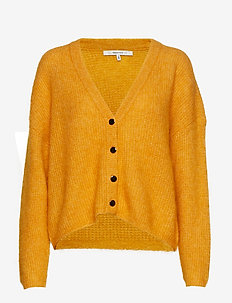 BrendaGZ v-cardigan MA19 - GOLDEN YELLOW MELANGE