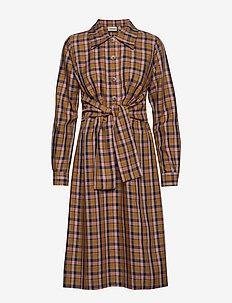 AcieGZ dress MA19 - robes chemises - blue/blush check
