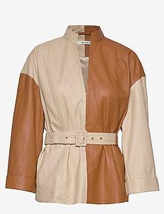 SuriGZ blouse MA19 - langærmede bluser - safari
