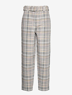 GinnieGZ pants MA19 - RED/YELLOW CHECK