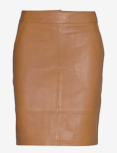 CharGZ mini skirt - korte nederdele - bone brown