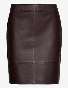CharGZ mini skirt - miniseelikud - coffee bean