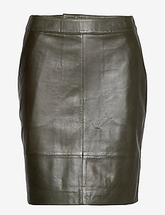 CharGZ mini skirt - DARK GREEN