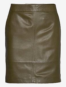 CharGZ mini skirt - korte rokken - dark olive
