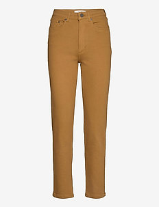 AstridGZ HW slim jeans NOOS - mom jeans - tapenade