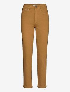 AstridGZ HW slim jeans NOOS - mor jeans - tapenade