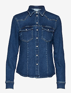 AstridGZ shirt - DENIM BLUE