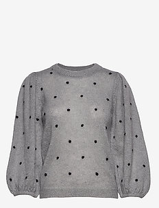 DionnaGZ puff pullover - GRAY FLANNEL