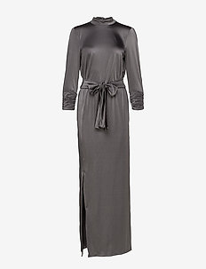 RizaGZ dress YE19 - kveldskjoler - gray flannel