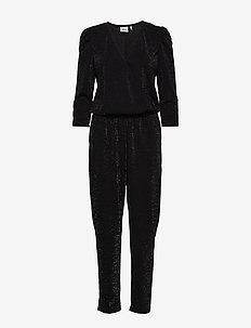 SolinGZ jumpsuit YE19 - BLACK