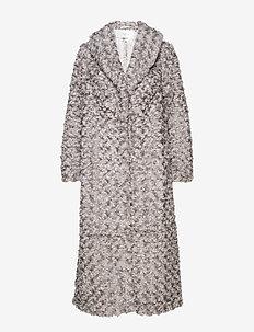 RyssaGZ coat YE19 - sztuczne futro - alloy