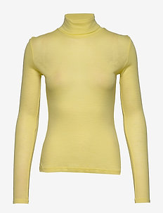 WilmaGZ rollneck - basic t-shirts - limelight