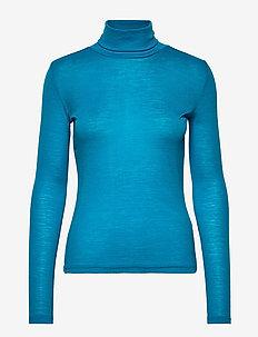 WilmaGZ rollneck - basic t-shirts - methyl blue