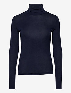 WilmaGZ rollneck - basic t-shirts - peacoat