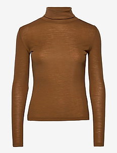 WilmaGZ rollneck - basic t-shirts - rubber