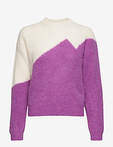 GallieGZ pullover SO20 - jumpers - iris orchid