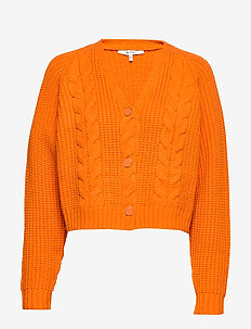 IbenaGZ cardigan SO20 - cardigans - orange pepper