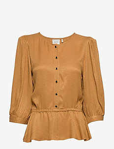 MerleGZ blouse SO20 - bluzki z długimi rękawami - bone brown