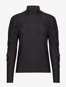 RifaGZ turtleneck - long sleeved blouses - black