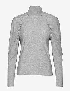 RifaGZ turtleneck - bluzki z długimi rękawami - light grey melange