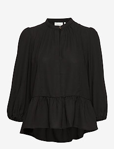 CeniaGZ blouse SO20 - langærmede bluser - black