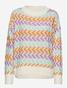 AdnaGZ pullover SO20 - truien - cloud dancer