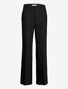 HazalGZ cen flared pants NOOS - straight leg trousers - black