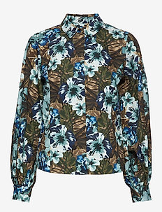 StellaGZ shirt MS20 - bluzki z długimi rękawami - tropical blue