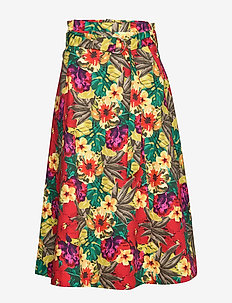 StellaGZ Skirt MS20 - midinederdele - tropical yellow