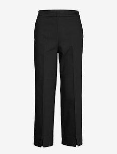 HazalGZ sid flared culotte - uitlopende broeken - black
