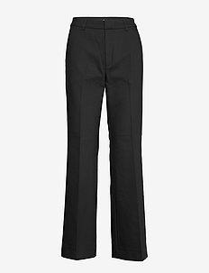HazalGZ cen flared pants - BLACK