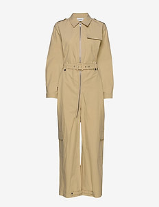 AdalineGZ jumpsuit MS20 - jumpsuits - safari