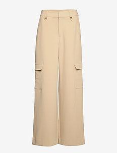 ReemGZ pants MS20 - pantalons larges - safari