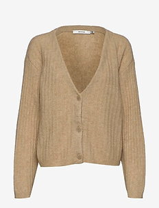 AlpiaGZ v-cardigan MS20 - cardigans - safari