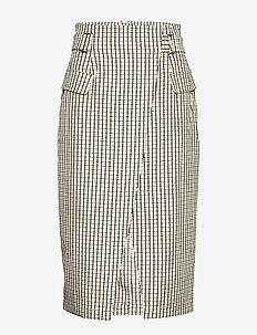 ElionaGZ skirt MS20 - jupes midi - lime light check